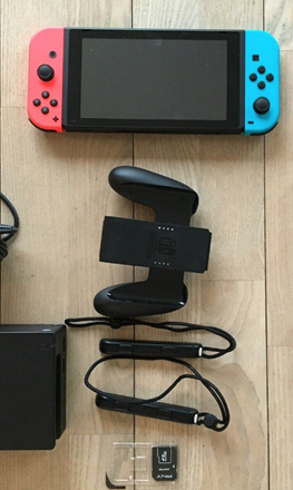 Klik her og find Nintendo Switch på DBA
