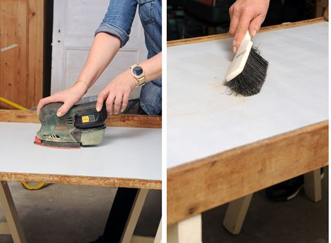 Upcycling af rullebord til barbord - DBA Guide
