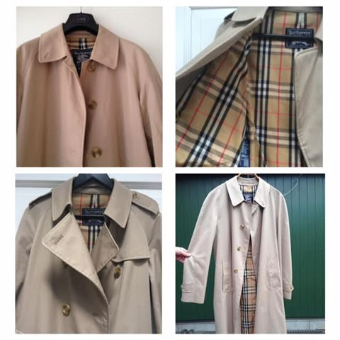 trenchcoat cottoncoat burberry